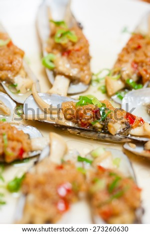 Razor clam, China coastal Food