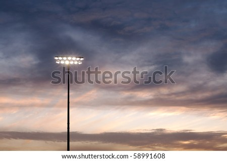 reaching for the skies - stock photo