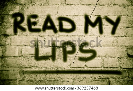 Read My Lips Concept