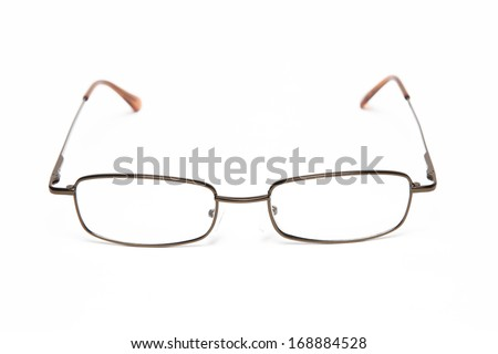 Reading glasses - stock photo