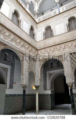 Real Alcazar de Sevilla - stock photo