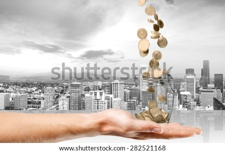 Real, concept, investment. - stock photo
