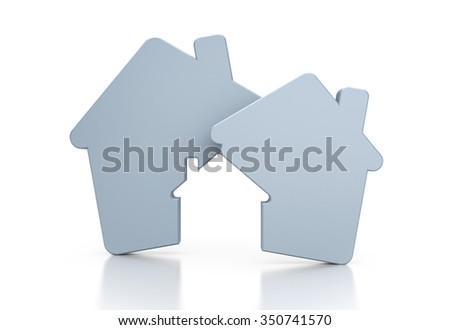 Real estate agency - stock photo