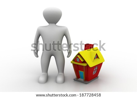 Real estate concept - stock photo