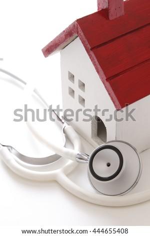 Real estate diagnosis - stock photo