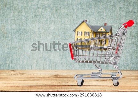 Real Estate, House, Sale. - stock photo