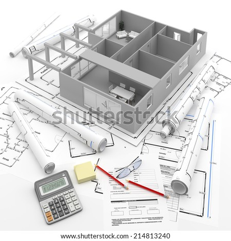 Real Estate investment 2 - stock photo