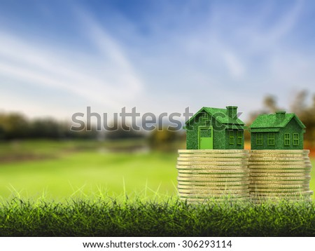 real estate investment concept - stock photo