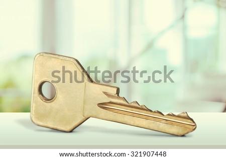 Real Estate Key. - stock photo