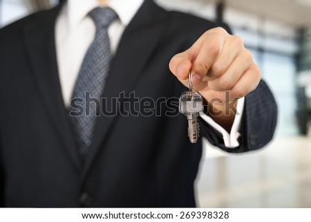 Real Estate, Key, House.