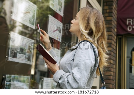 Real Estate Offers - stock photo
