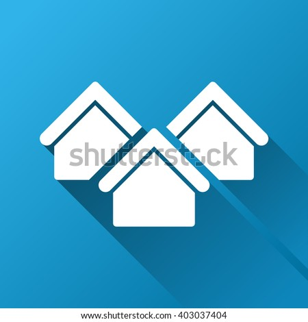 Neighborhood icon stock images royalty free images for Real estate design software