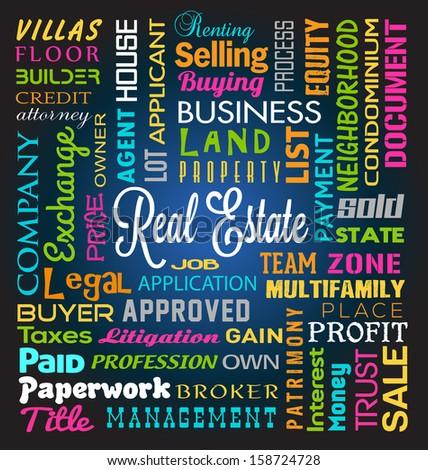 Real Estate Theme - stock photo
