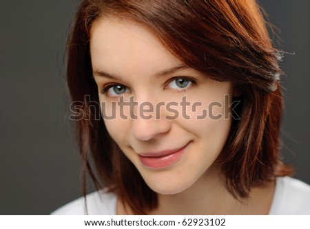 Real girl - stock photo