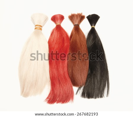 Real Human Hair Used for Production of Wigs