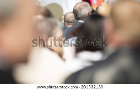 real people on the street, - stock photo