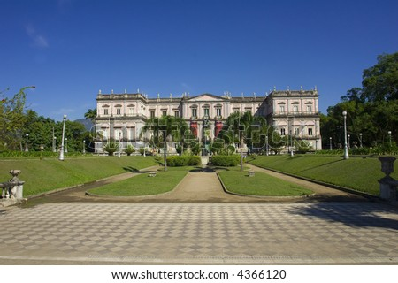 Real residence of the emperors of Brazil - 1822 to 1889. Today is a museum