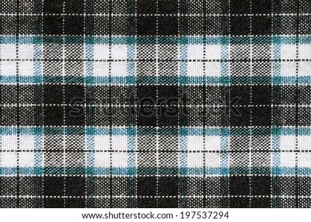 Real textile pattern. Close-up view. - stock photo