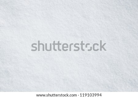Real white snow surface - stock photo