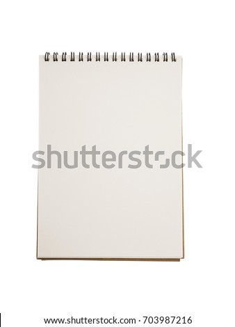 Realistic blank notebook template cover design stock photo royalty realistic blank notebook template for cover design school business diary cheaphphosting Image collections