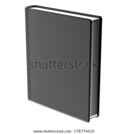 realistic 3d render of old book