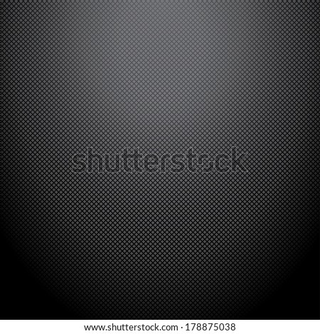 Realistic dark carbon background, texture.