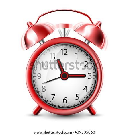Vector Icons Alarm Clock Stock Vector 251811835 - Shutterstock