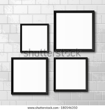Realistic picture frames. Perfect for your presentations