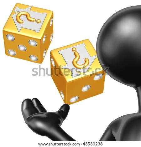 Realty Risk Presenter - stock photo
