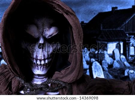 Reaper - stock photo