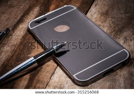 Rear covers smartphone