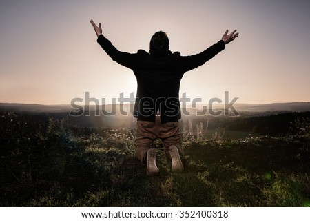 Kneeling Stock Images Royalty Free Images Amp Vectors