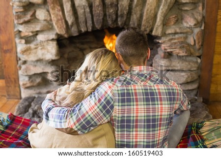 Woman Fireplace Stock Images, Royalty-Free Images & Vectors ...