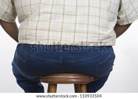 Fat Man Sitting Stock Photos Images Amp Pictures