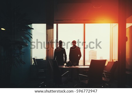 Looking Out Window Stock Images RoyaltyFree Images Vectors - Beautiful painted window silhouettes interact outside world