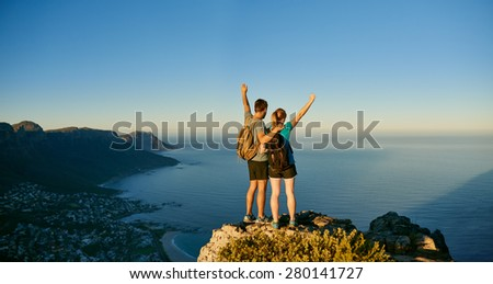 triumphant pose stock images royaltyfree images