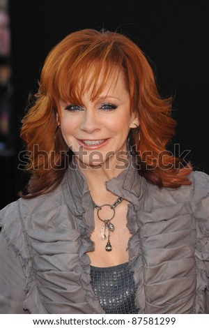 Reba McEntire at the 2009 American Music Awards at the Nokia Theatre L.A. Live. November 22, 2009  Los Angeles, CA Picture: Paul Smith / Featureflash