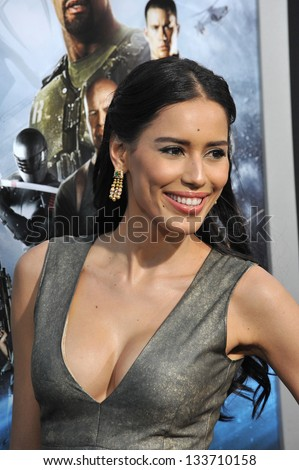 "Rebecca Da Costa at the Los Angeles premiere of ""G.I. Joe: Retaliation"" at the Chinese Theatre, Hollywood. March 28, 2013  Los Angeles, CA Picture: Paul Smith"