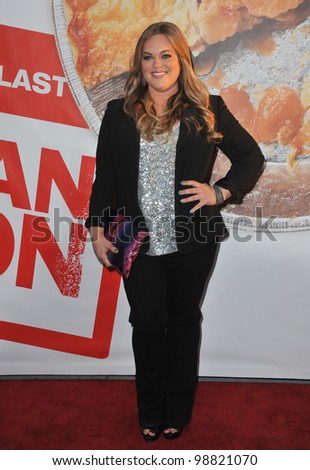 "Rebecca Field at the US premiere of ""American Reunion"" at Grauman's Chinese Theatre, Hollywood. March 19, 2012  Los Angeles, CA Picture: Paul Smith / Featureflash - stock photo"