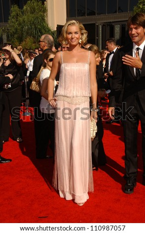 Rebecca Romijn arriving at the 59th Annual Primetime Emmy Awards. The Shrine Auditorium, Los Angeles, CA. 09-16-07