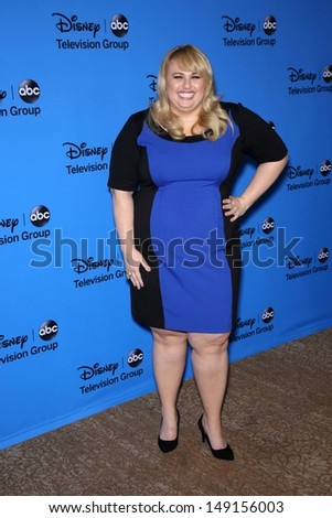 Rebel Wilson at the Disney/ABC Summer 2013 TCA Press Tour, Beverly Hilton, Beverly Hills, CA 08-04-13