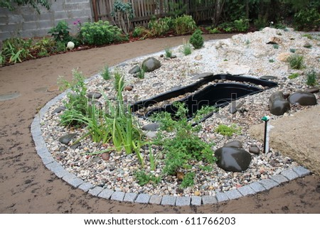 Preform stock images royalty free images vectors for Garden pond insert