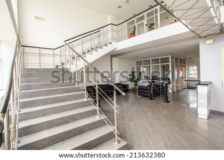 reception with Stairs  - stock photo
