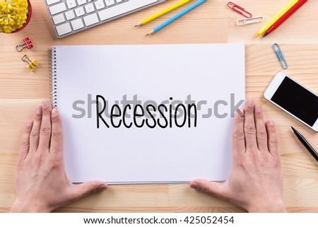 Recession Concept - stock photo