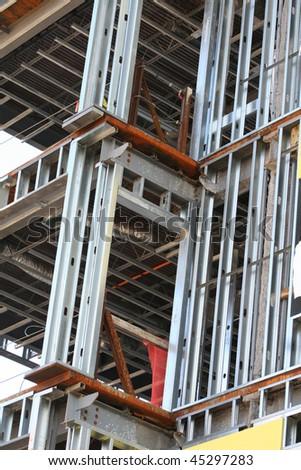 Recession slows construction - stock photo