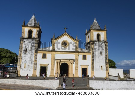 Recife - Church in Recife, Olympic City 2016 , Brazil