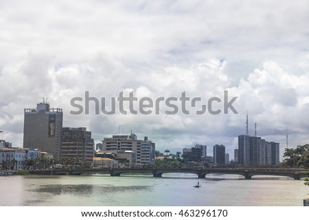 Recife - Famous buildings in Recife, Olympic City 2016 , Brazil