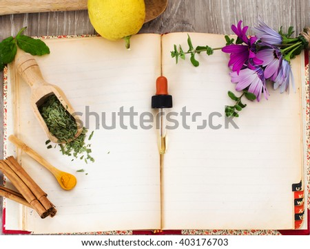 recipe book for natural remedies against seasonal allergies
