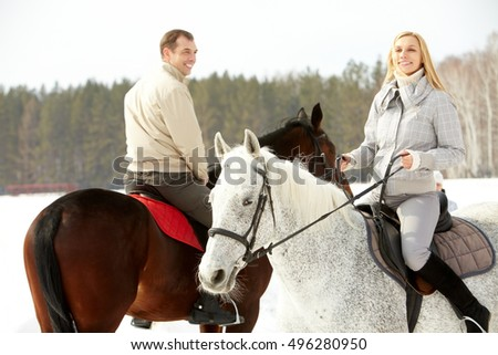 Recreational horseback riding