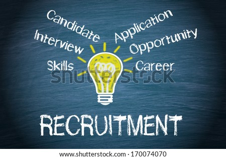 Recruitment - stock photo